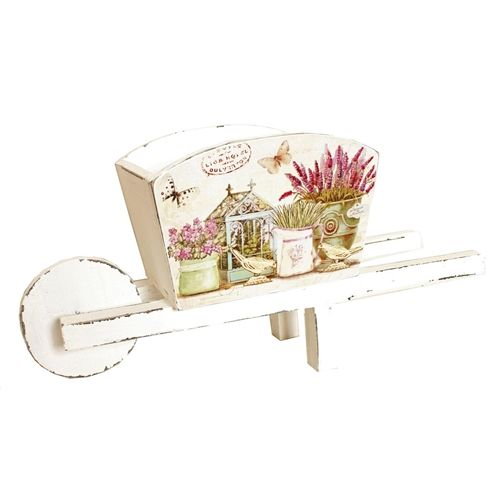 Country Lavender Wheelbarrow