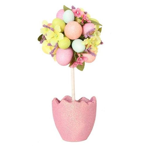 Easter Egg Decorated Topiary Tree