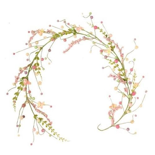 Easter Pearl Berry Garland
