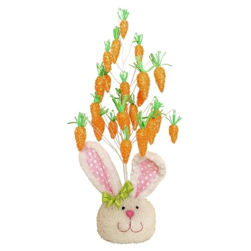 Easter Rabbit Carrot Tree