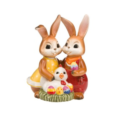 Our Colourful Easter Nest Figurine