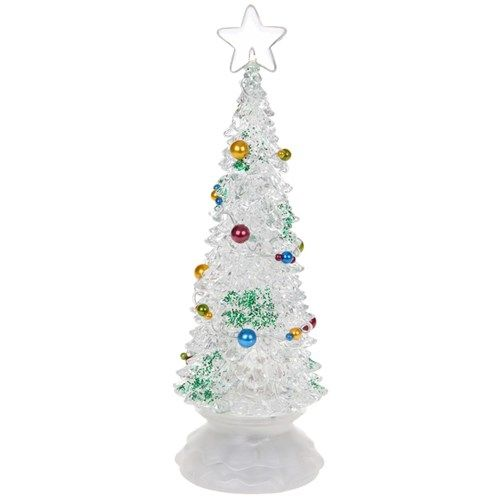 Revolving LED Christmas Tree - Large