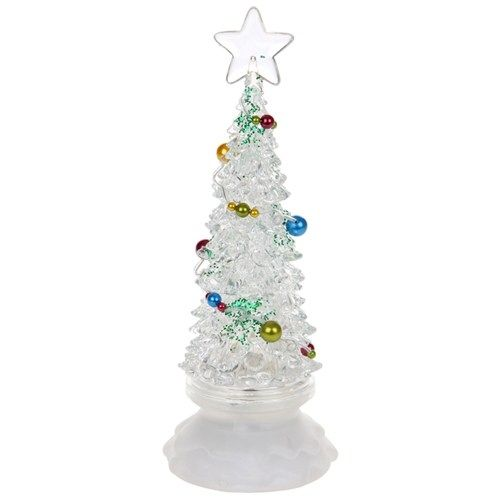 Revolving LED Christmas Tree - Small