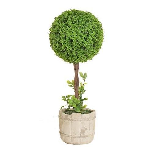 Spring Tabletop Large Ball Topiary Tree
