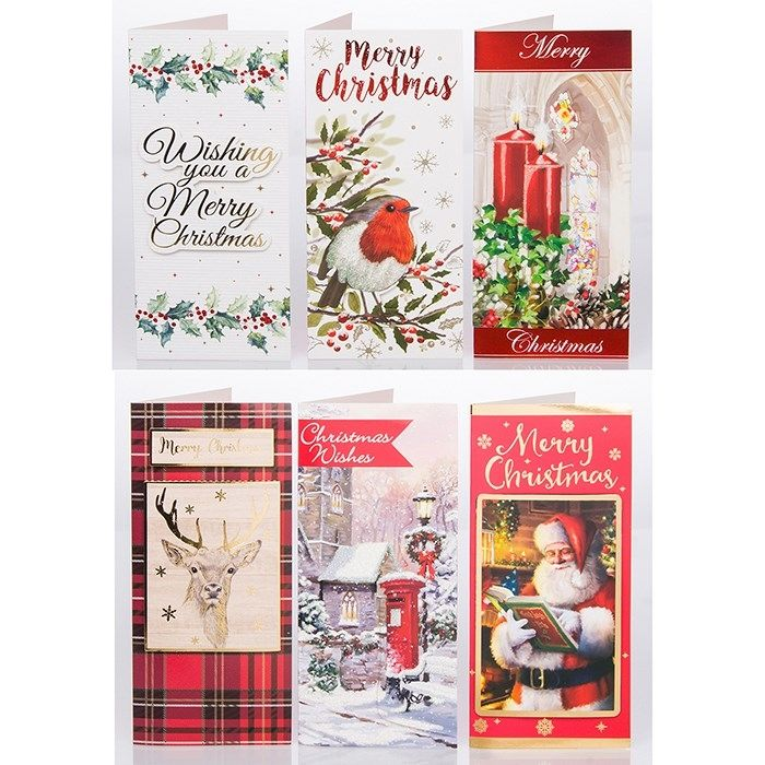 Traditional Christmas Money Wallet Gift Cards