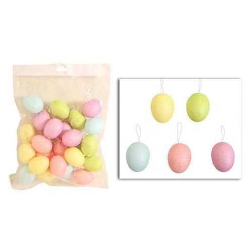 Vibrant Easter Sparkle Small Hanging Egg Set